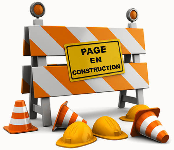 site internet page en construction